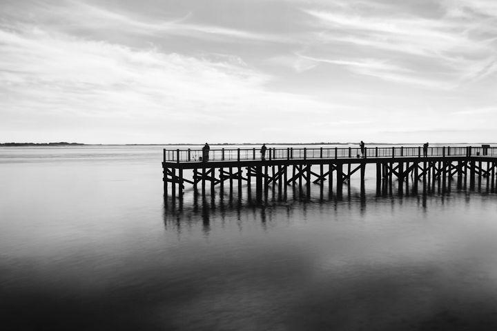 Oak Beach Pier 1 - chuck_lembo