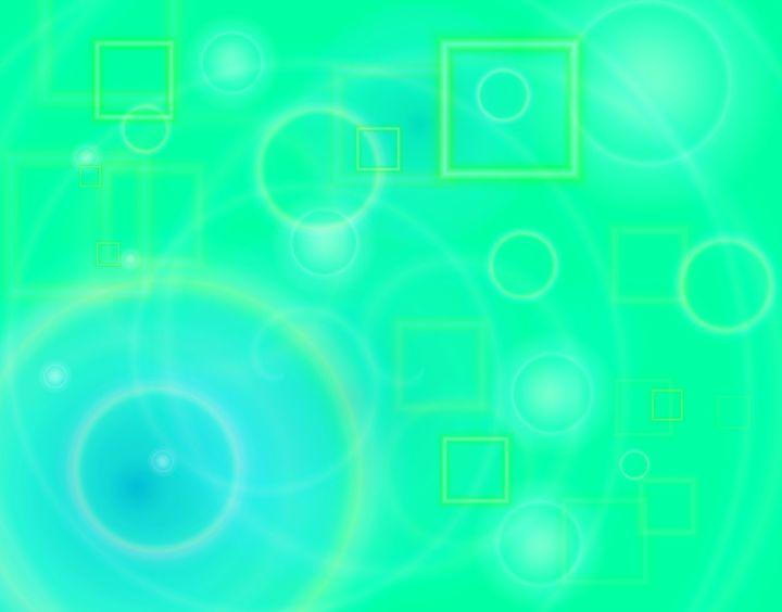 bubbles green - Beginning: Wallpapers