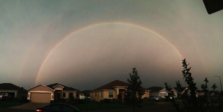 double rainbow - fdupcml Art