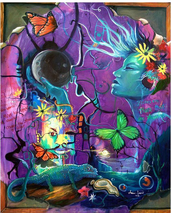 Lucid dreams - Akan David Art