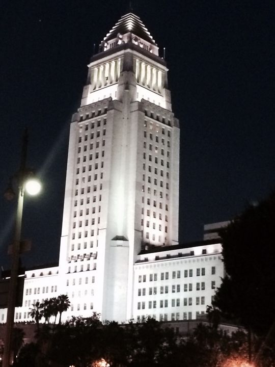 LA City Hall - Paintings and Photos