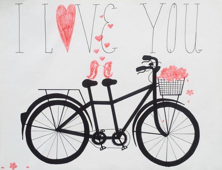 I LOVE YOU - Nadia Hopf