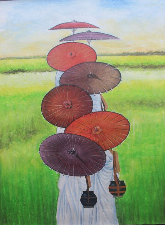 All color in one umbrella - Soul Painting
