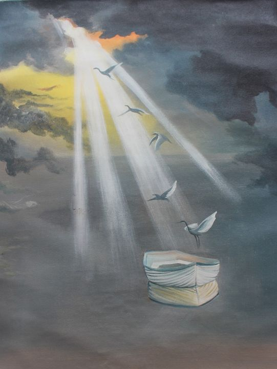Heavenly Boat - Soul Painting