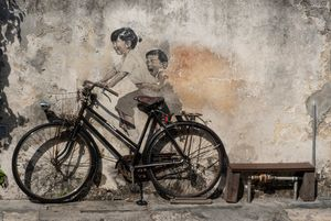 Penang Street Art 1.