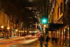 Pine Street Traffic