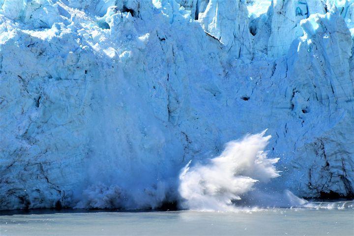 Margerie Glacier Crashing - Pat Hansen's Photos