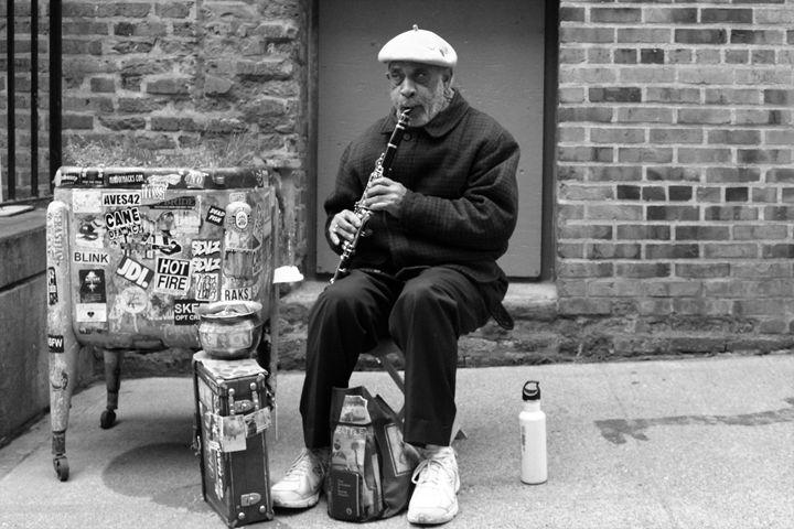 Street Musician - Pat Hansen's Photos