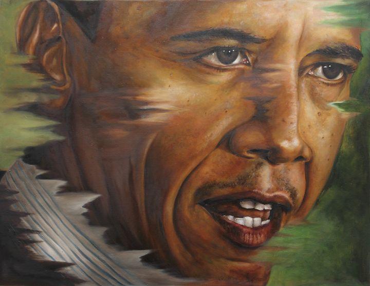 Portrait of Barack Obama - ah shui