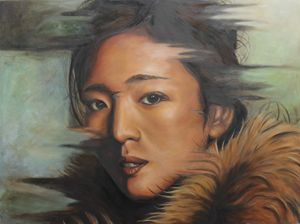 Portrait of Gong Li