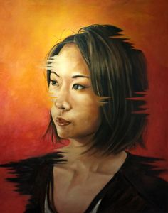 Portrait of Chinese woman