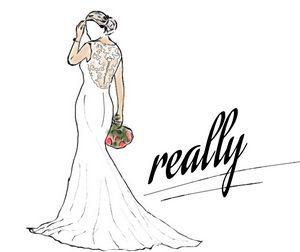 design bride crazy wedding sketches