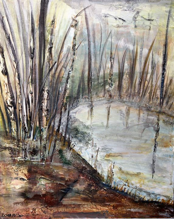 the lake - Pazit Goldstein
