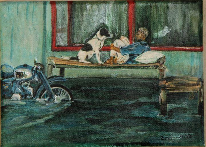 person & dog - Pazit Goldstein
