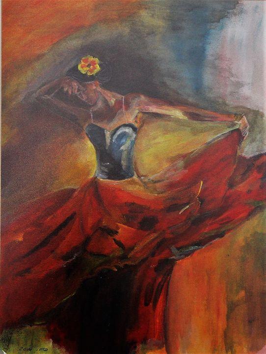The dancer - Pazit Goldstein