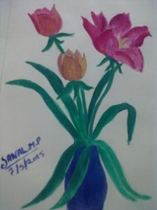 flower smail