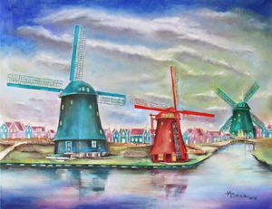 Windmill Village - Amsterdam