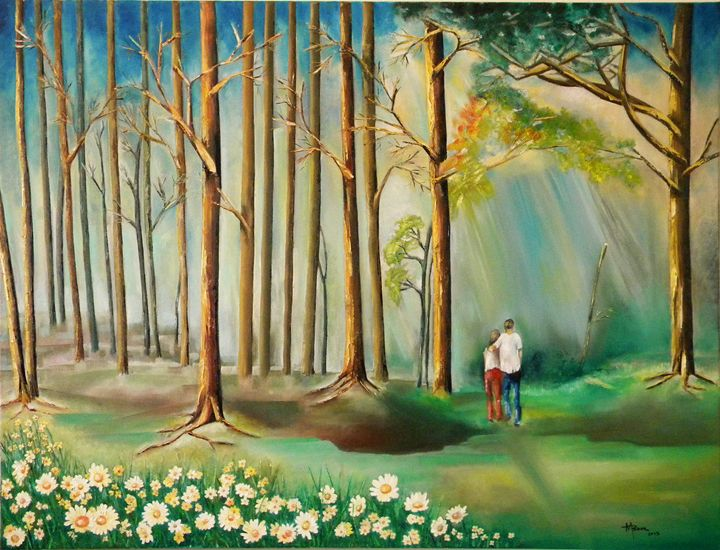 Solace in the Woods - Miriam B. Besa