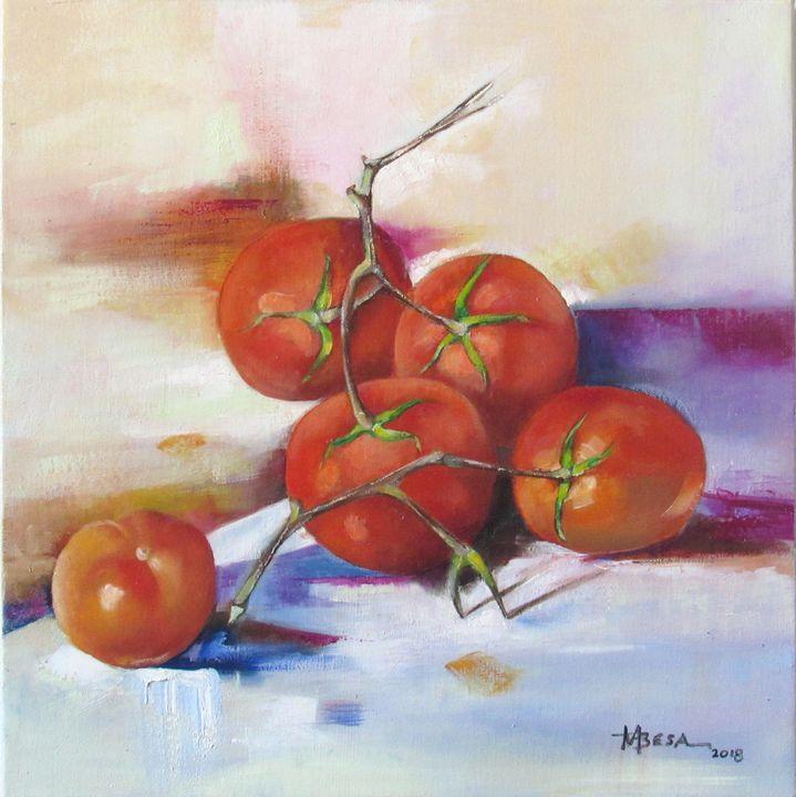 Ripe Tomatoes - Miriam B. Besa