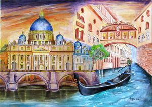Vatican and The Grand Canal