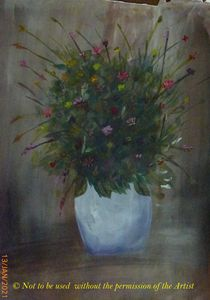 Flowers in a Vase (A3)