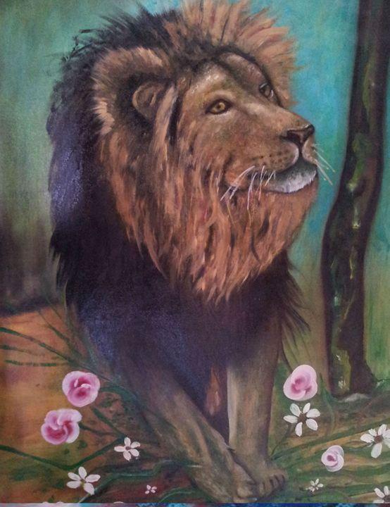 mother lion - art of web