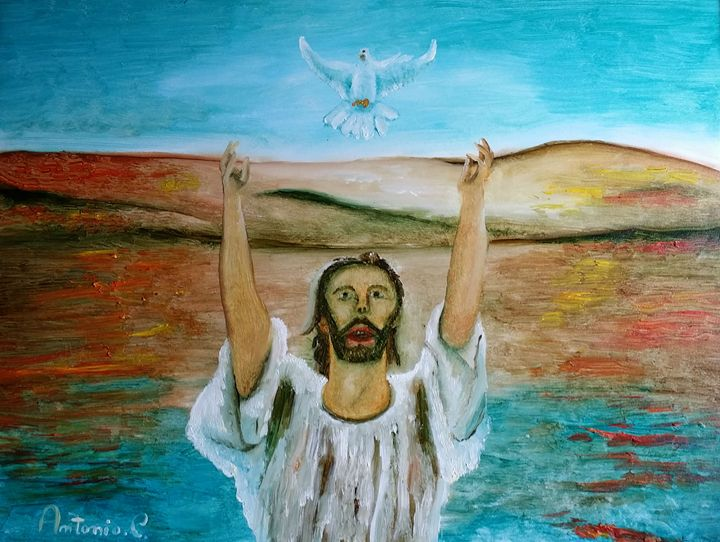 baptism of jesus' - art of web