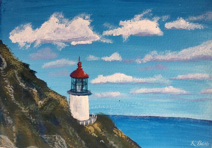 Makapu'u Lighthouse II - K Bass Art