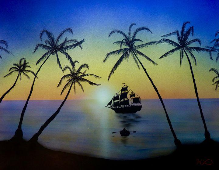 Treasure Seeker - K Bass Art
