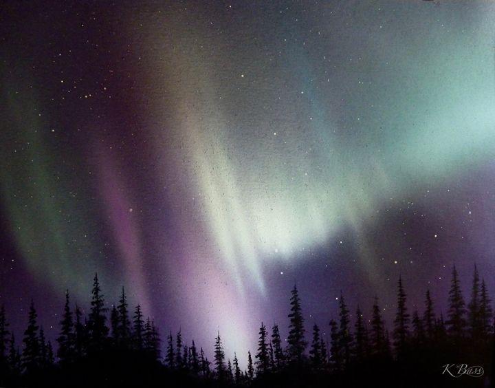 Northern Lights I - K Bass Art