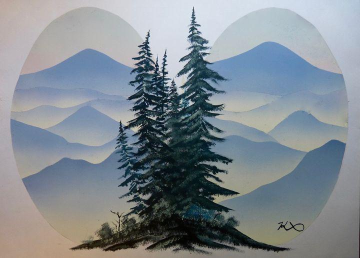 Blue Mountains - K Bass Art