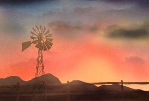 Camas Prairie Windmill I