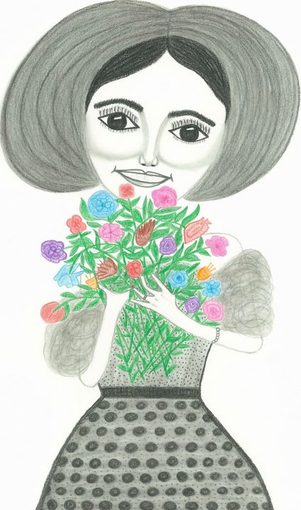 What A Lovely Bunch Of Flowers - PMDartwork