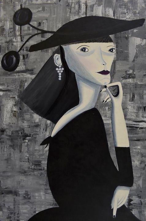 Lady In Black - PMDartwork