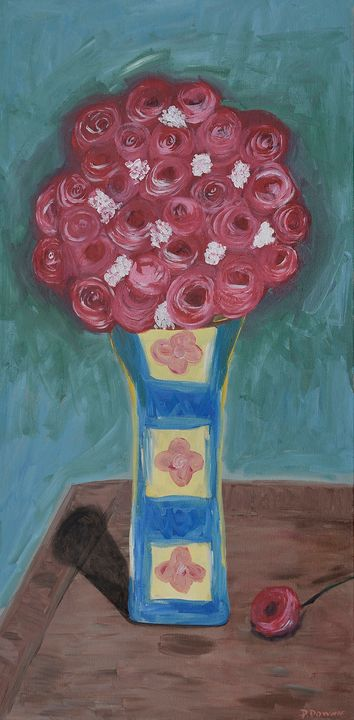 Too Many Flowers - PMDartwork