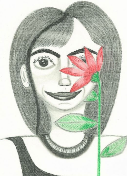 Kissed By A Flower - PMDartwork