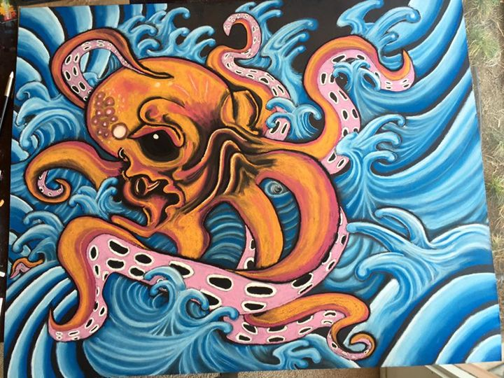 """""""Octopus"""" by Chris Clemence - Art by Chris Clemence"""
