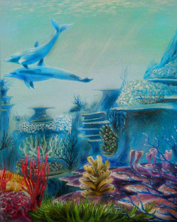 Leaving Eden - Fisher Artworks