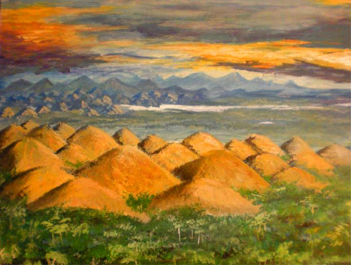 Chocolate Hills - Fisher Artworks