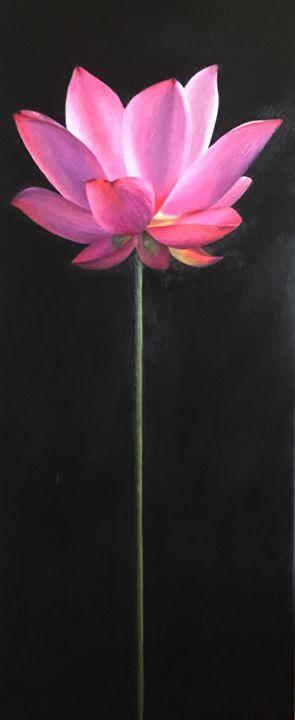Pink Lotus - Cheryl Meehan