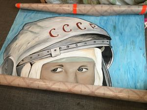 Russian Astronaut
