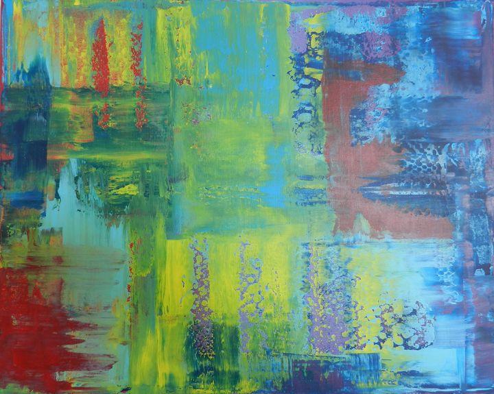 Colorful E - Artful Dabbler Studio
