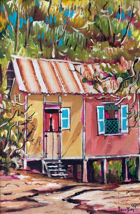 Chattel Houses (2007)  10 x 15.5 - Gallery Artemeta