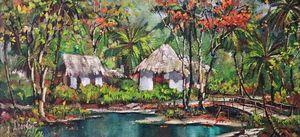 Behind the Bridge - Tapia Huts
