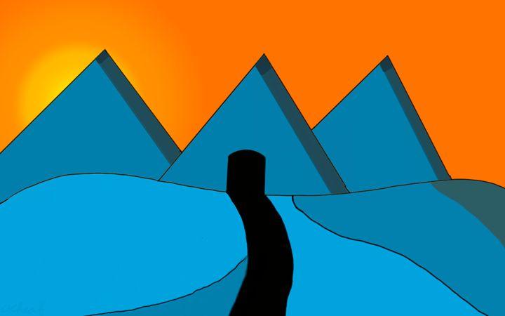 land of blue - achraf elmardi