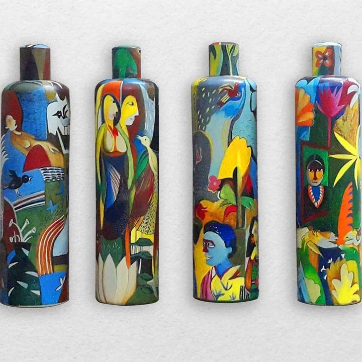 Painted vessels - Babita Das