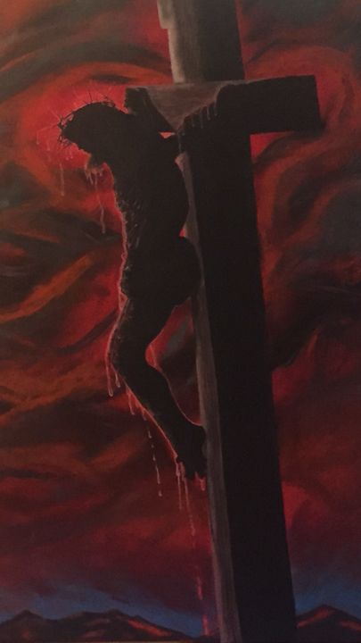 Crucified - Pure Expressive Art