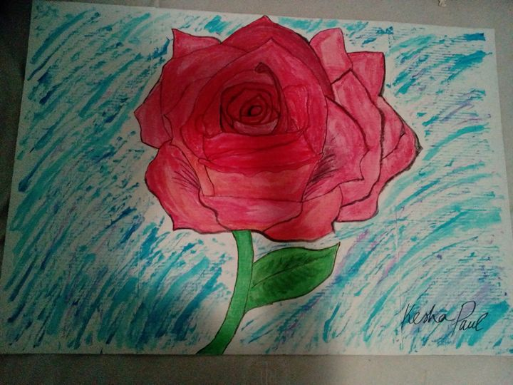 Blooming to a beautiful rose - Kesha beautiful art