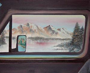 Road Trip- Original 20 by 16 Oil