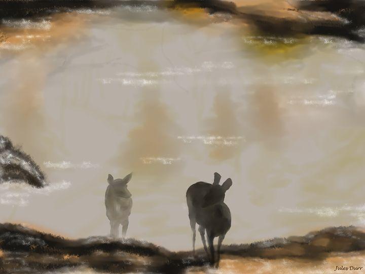 Misty Morning - Jules Durr